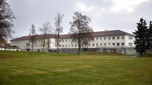 1960-bygget på Brøset er bygd i 1961 og fredet. (Foto: Frank Lervik)